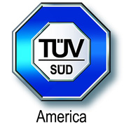 ISO 9001:2008 quality management systems logo - TUV SUD America